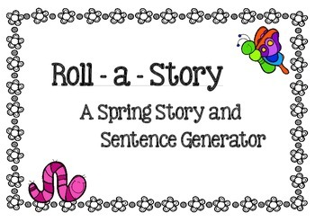 Spring Story / Sentence Generator and Prompts  - ame / activity. g