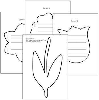 Spring Student Created Bulletin Board - Creative Writing Displayed!