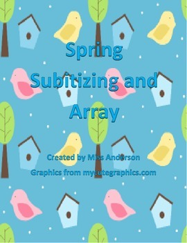 Spring Subitizing and Array