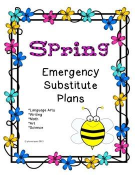 Substitute Plans-Spring