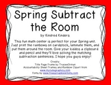 Spring Subtract the Room - 1.OA.C.6