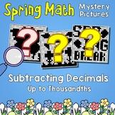 Spring Subtracting Decimals Up to Thousandths