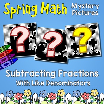 Spring Subtracting Fractions With Like Denominators