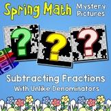 Spring Subtracting Fractions With Unlike Denominators