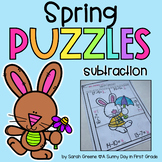 Spring Subtraction Puzzles!