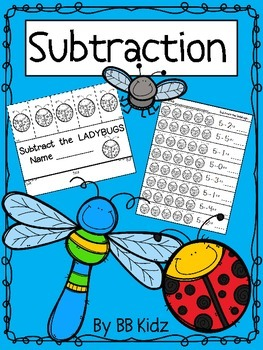 Spring Subtraction Stations {Hands on subtraction activities for Spring}