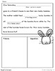 Spring Subtraction Story Problem Mad Libs