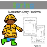 Spring Subtraction Story Problems