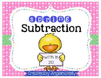 Spring Subtraction within 20