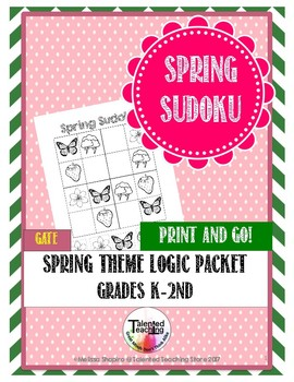 Early Finisher's Spring Sudoku