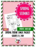 Early Finishers Spring Sudoku