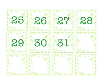 Spring/Summer Calendar Cards