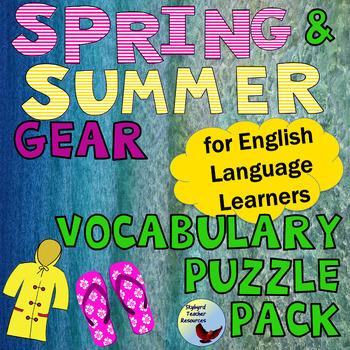 English Vocabulary Puzzle Teaching Resources | Teachers Pay Teachers