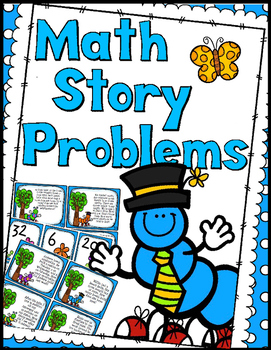 Math Word Problems Game - Add, Subtract, & Multi-Step
