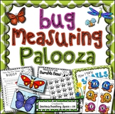 Summer / Spring Measuring --- Bug Measuring Palooza Math Centers