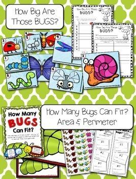 Summer / Spring Measuring --- Bug Measuring Palooza Math Centers