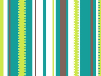 Spring & Summer Presentation Backgrounds for Dots on Turquoise Lovers