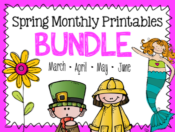 Spring & Summer Printables BUNDLE