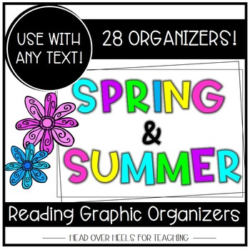 Spring & Summer Reading Graphic Organizers {Common Core Aligned}