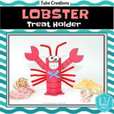 Spring Summer Science Craft - Lobster Treat Holder