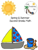 Spring & Summer Second Grade Math
