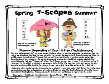 Spring & Summer T Scopes
