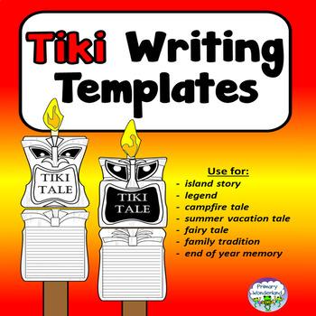 Summer Writing Template Teaching Resources | Teachers Pay Teachers