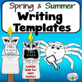 Spring Summer Writing Templates Pack LARGE