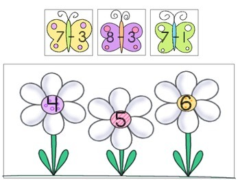 Spring Sums and Subtraction - Bundle