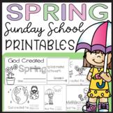 Preschool Kindergarten Bible Lesson Activities Printable C
