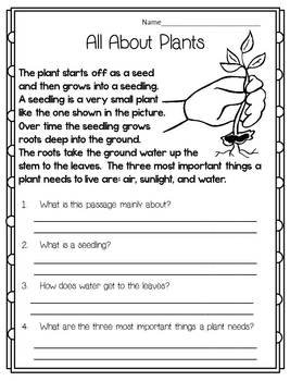 Spring Surprises! {Reading, Math, Writing, and more-Common Core}