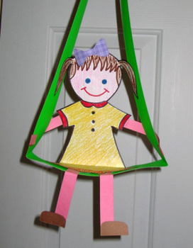 Spring and Summer Swing - An Easy-art Craftivity