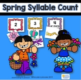 Spring Syllable Count Activity