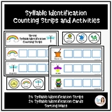 Spring Syllable Identification Counting Strips and Activities