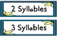 Spring Syllable Practice