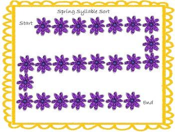 Spring Syllable Sort