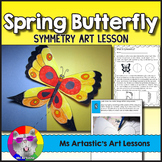 Butteryfly Symmetry Art Lesson