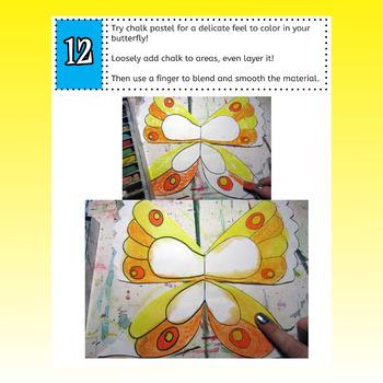 Butteryfly Symmetry Art Lesson