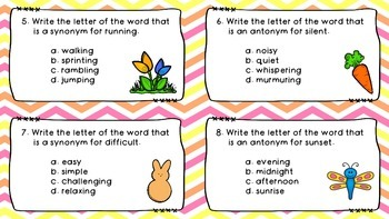 Spring Synonyms and Antonyms