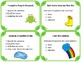 Spring Task Card Bundle: Commas and Parts of Speech