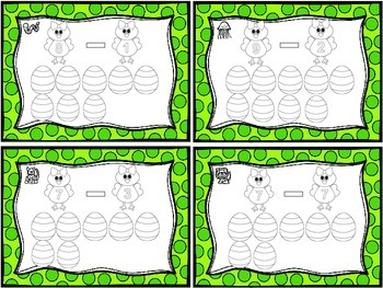 Spring Task Cards - Addition & Subtraction to 10