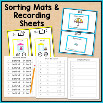 Spring Task Cards: Basic Concepts (Special Education & Speech Therapy)