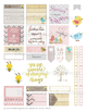 Spring Teacher Stickers Printable for HP and EC Teacher Planners