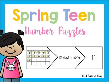 Spring Teen Number Puzzles