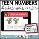 Spring Teen Numbers Count the Room Kindergarten Math Center DIGITAL & PRINTABLE