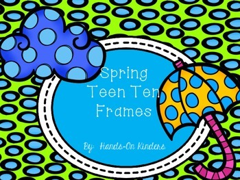 Spring Teen Ten Frames