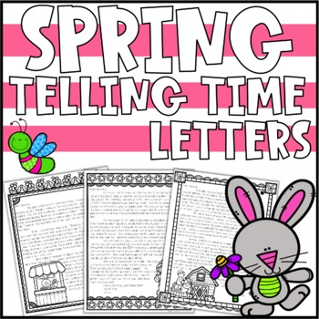 Spring Telling Time Activity