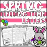 Spring Telling Time Activity | Telling Time Enrichment