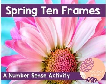 Spring Ten Frame Activity