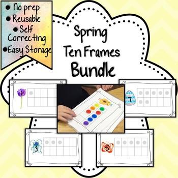 Spring Ten Frame Bundle